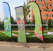 flying banner 3m glass sticker flag car