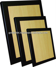Economic Series Stock Wooden Plaque - GPQ001 A,B,C