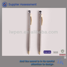 Stainless Steel Capacitive Stylus Ballpoint Pen