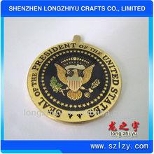 Old copper coins medals brass stamping challenge metal coin medals sport medallion emblem badge manufacture
