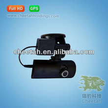 Factory OEM IR LED Infrared Night Vsion Digital security camera system with GPS And Dual Lens,truck camera system,dvr