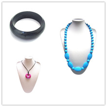 Eco-friendly Chewable Jewels 2014 Baltic Amber Teething Necklaces Wholesale