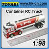 mini 1:98 scale container 1/10 scale 4x4 rc truck