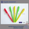 工場出荷時の価格安い広告ボールペン、 プラスチックペン