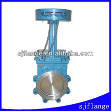 api chain wheel knife gate valve