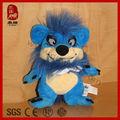juguete de la felpa animales salvajes de la felpa del diablo de tasmania