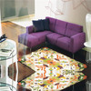 italian design simple fabric sofa set for home use