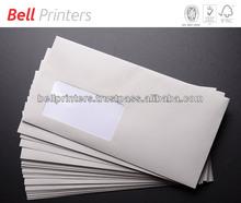 Envelope making customised printing window pasting from Sivakasi, India
