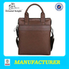 mens office business bags ipad genuine leather bags manufacturer