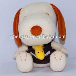 Custom kid toy plush snoring dog