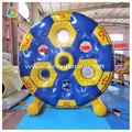 2014 louco inflável roda d ' água flutuante, Infláveis esportes aquáticos