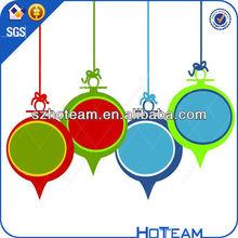 whole sale colorful trade show chrismas ornaments acrylic chrismas ornaments