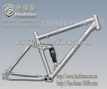 China specialized titanium bike frames suspension frame