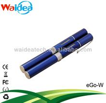 Pen style e cigarette mini ego-w starter kit with ego w atomizer