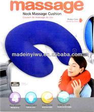 Massaging pillow