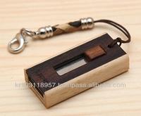 Wooden USB Slide Type 16GB Made in Korea