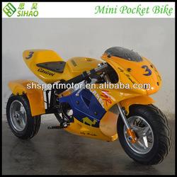 Electric 350w 500w 36v Mini Pocket Bike Kids Motorcycle