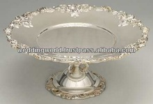 Cake Stand Made of Aluminum With Polish Finish