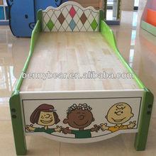 Kindergarten Furniture Wooden Kids Bed