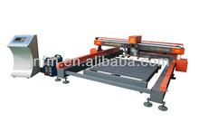 Alta calidad círculo de acero de corte de la máquina con fuerte bastidor de la máquina, Corrientes de precisión