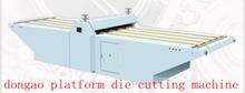 platform die-cutting machine/ auto die cutting machine
