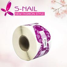 new 500pcs pack UV Gel Acrylic Extension Guide nail form nail tool