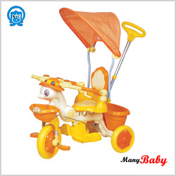 Double Seat kids 3 wheel tricycle Designer Kids Tricycles