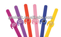 Silicone interchangeable kids slap band fashion brand novelty jelly quartz watches