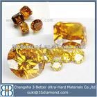 Made in china yellow jewerly,yellow synthetic gem,yellow topaz gemstone
