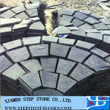 Chinese Natural Black Slate Paving Stone