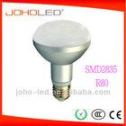 R80-SMD45D SMD2835 aluminum R80 led bulb led lights for home 8W led lamps for home