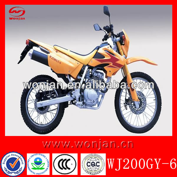 2013 new Cheap 200cc off road dirt bike for sale(WJ200GY-6)