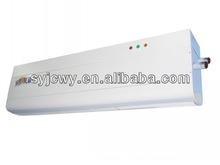 air curtains with water heater