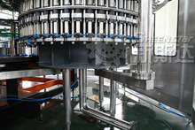 Automatic energy drink filling plant