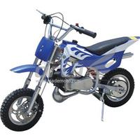 Best selling kids gas blue mini dirt bikes 50cc