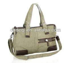 Canvas Tote &Shoulder Bag Custom Ladies Travel Bag