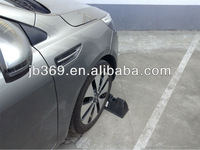 garage rubber wheel car stop/stopper manufacture in china
