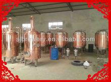 mini copper 300l beer brewing equipment