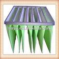 Prodotti caldi f7 tasca filtro per l'industria raccogliere la polvere