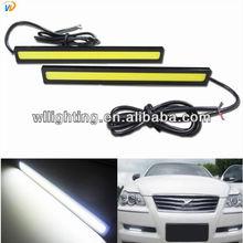 2013 Hot!!! 2x Super Bright COB White LED Lights DRL Fog Driving Lamp Daylight Fashion Style
