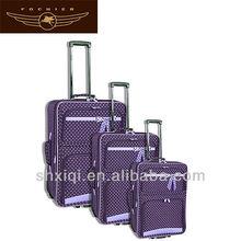 2014 polka dot luggage wholesale for travel