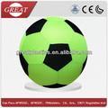 de goma pelota de fútbol inflable bola de mega