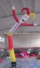 single leg inflatable Christmas air dancer, advertising Santa air dancer, pvc inflatable dancing man (sue-25)