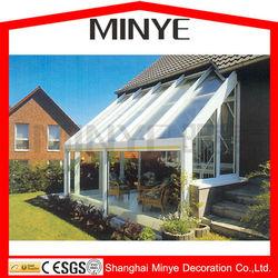 glass sunroom/outdoor glass room/customized design glass room