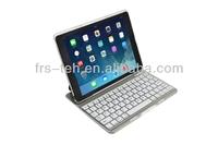 ultra slim aluminum bluetooth keyboard for ipad 5/air