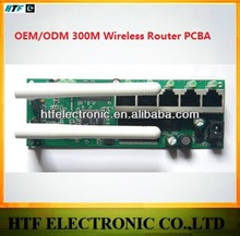 high speed OEM/ODM 300M desktop 1P Wan+4p LAN 802.11b/g/n Two External antenna 2.4G internet modem tp link Router wifi module