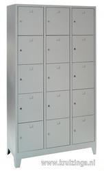 Cabinet, Helmet cabinet 15 doors.