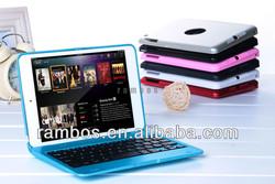 For iPad Mini Aluminum Bluetooth Keyboard Cover Tablet Wireless Bluetooth Keyboard