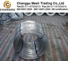 Fil de fer galvanisé de zinc de placage, prix bas fil de fer galvanisé