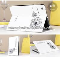 Hot sells Dandelion one direction cover case for ipad mini,for ipad mini pu leather case